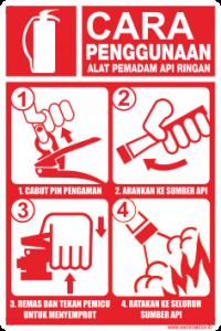 cara penggunaan APAR